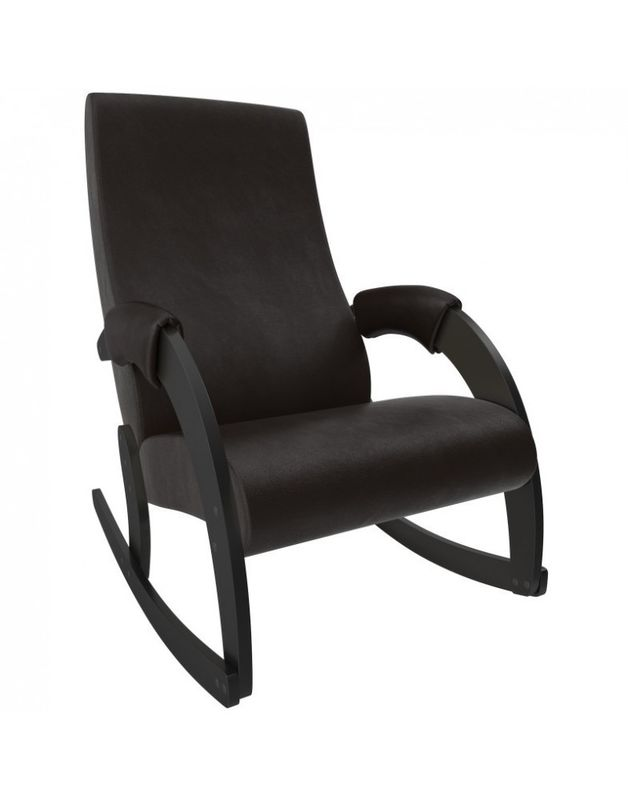 Кресло Impex Модель 67M  Экокожа (vegas lite black) - фото 3