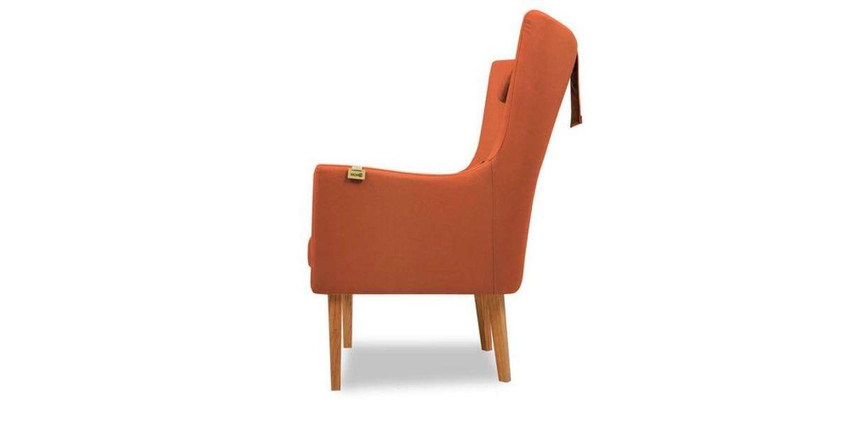 Кресло WOWIN Элеганза высокое (Терракотовый велюр) - фото 3