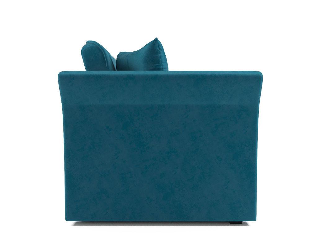 Диван Мебель-АРС Малютка №2 (бархат сине-зеленый  STAR VELVET 43 BLACK GREEN) - фото 4