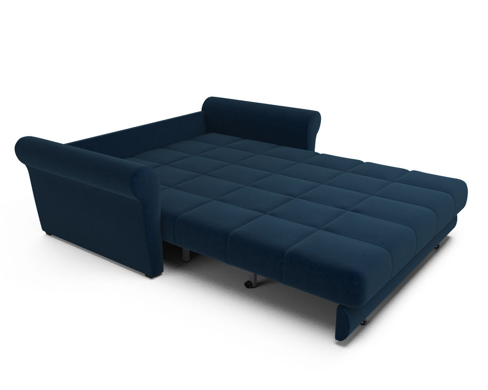 Диван Мебель-АРС Гранд (темно-синий - Luna 034) - фото 5