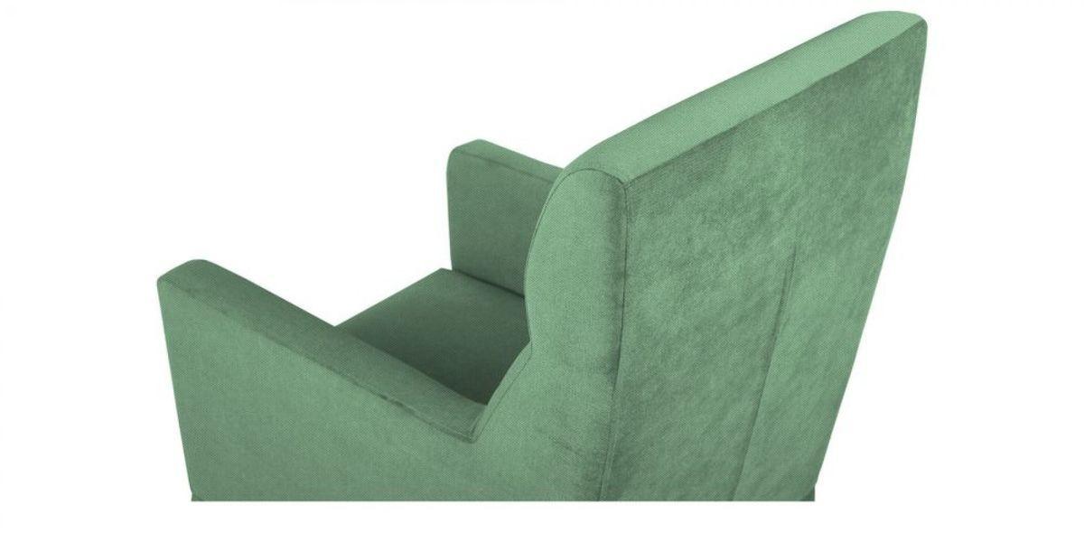 Кресло WOWIN Полар высокое (Мятная рогожка) - фото 4