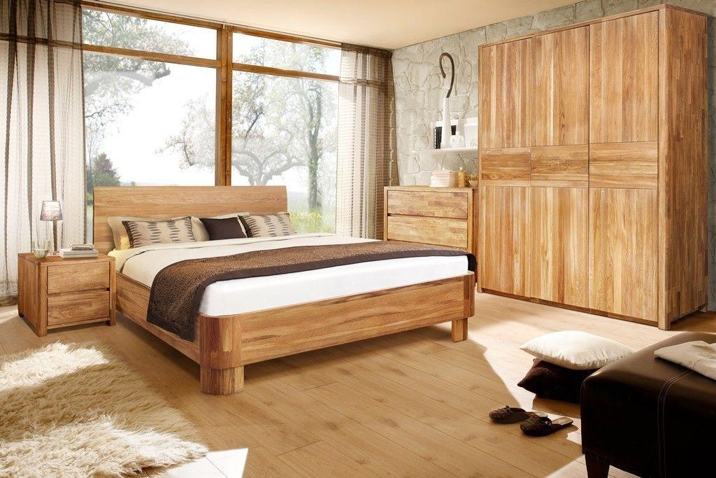 Спальня Стэнлес Лозанна (кровать, шкаф, комод, тумба) - фото 1
