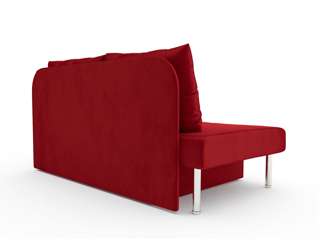 Диван Мебель-АРС Алиса (бархат красный / STAR VELVET 3 DARK RED) - фото 3