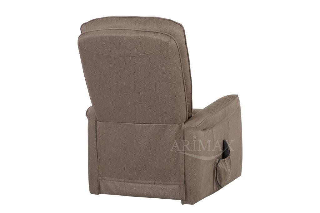 Кресло Arimax Dr Max DM02007 (Серо-коричневый) - фото 7