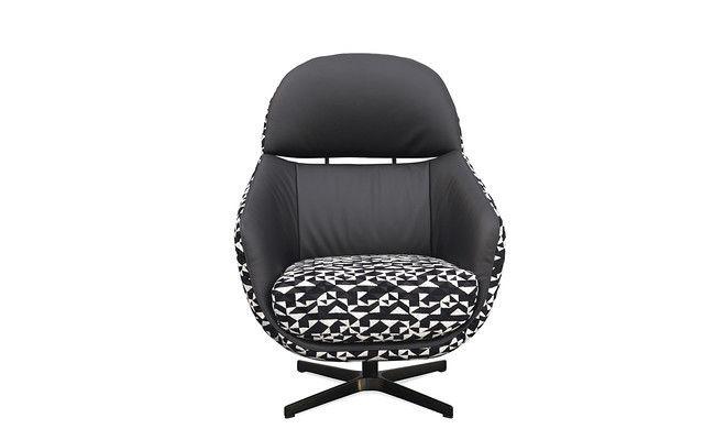 Кресло KLER CORNETTA W189 (чёрный) - фото 5