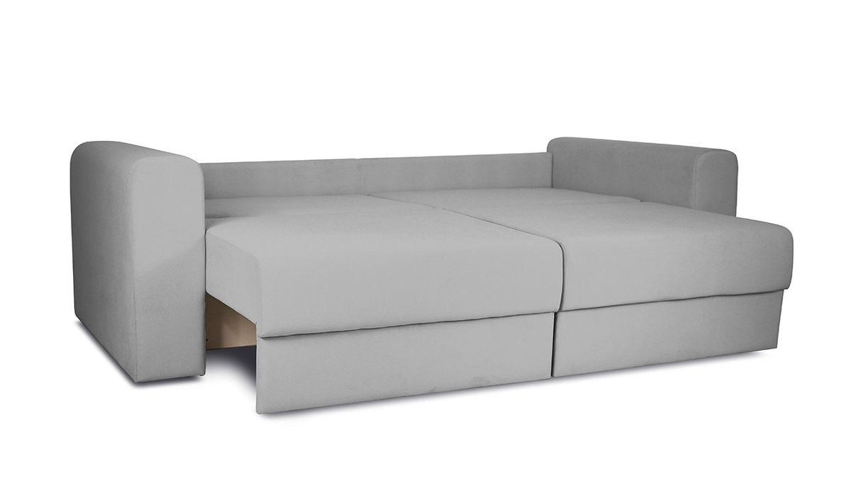 Диван ТриЯ «Вилсон» (Kolibri Aqva (велюр) бирюзовый подушка Kolibri Cream (велюр) кремовый) - фото 6