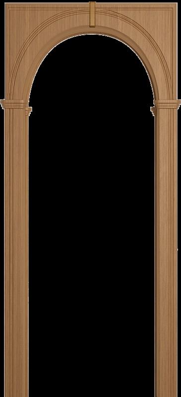 Межкомнатная арка Юркас Палермо Дуб светлый - фото 1