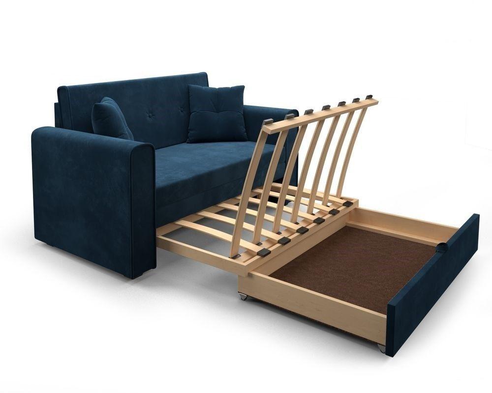 Диван Мебель-АРС Санта Luna 034 темно-синий - фото 6