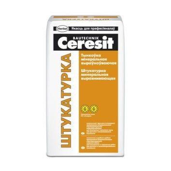 Штукатурка Ceresit Растворная сухая смесь, штукатурная - фото 1