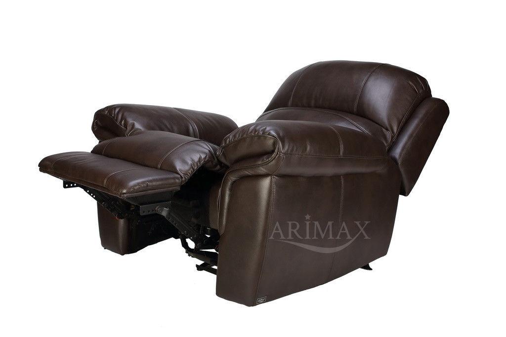 Кресло Arimax Миллер N (Темный каштан) - фото 3