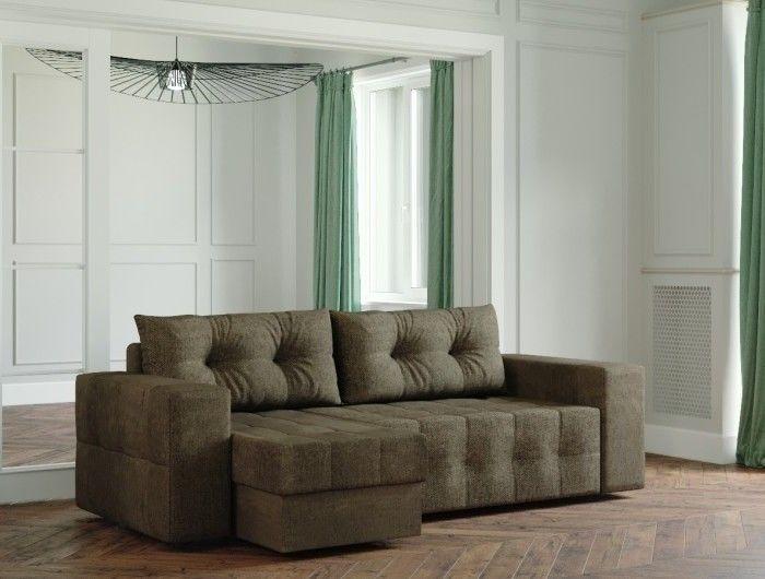 Диван Настоящая мебель Ванкувер Мейсон (модель: 00-00003437) коричневый - фото 1