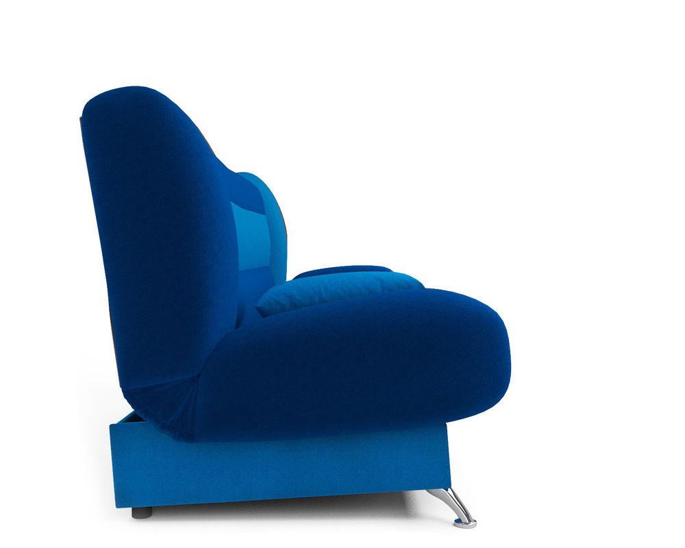 Диван Мебель-АРС Лодочка астра синяя - фото 3