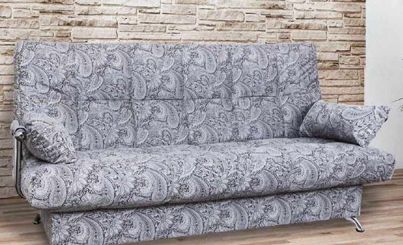 Диван Апогей-Мебель Финка прямой (Хромированные боковины) - фото 1