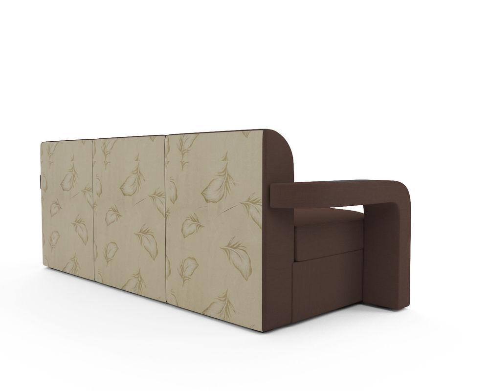 Диван Мебель-АРС Сенатор (рогожка шоколад) - фото 4