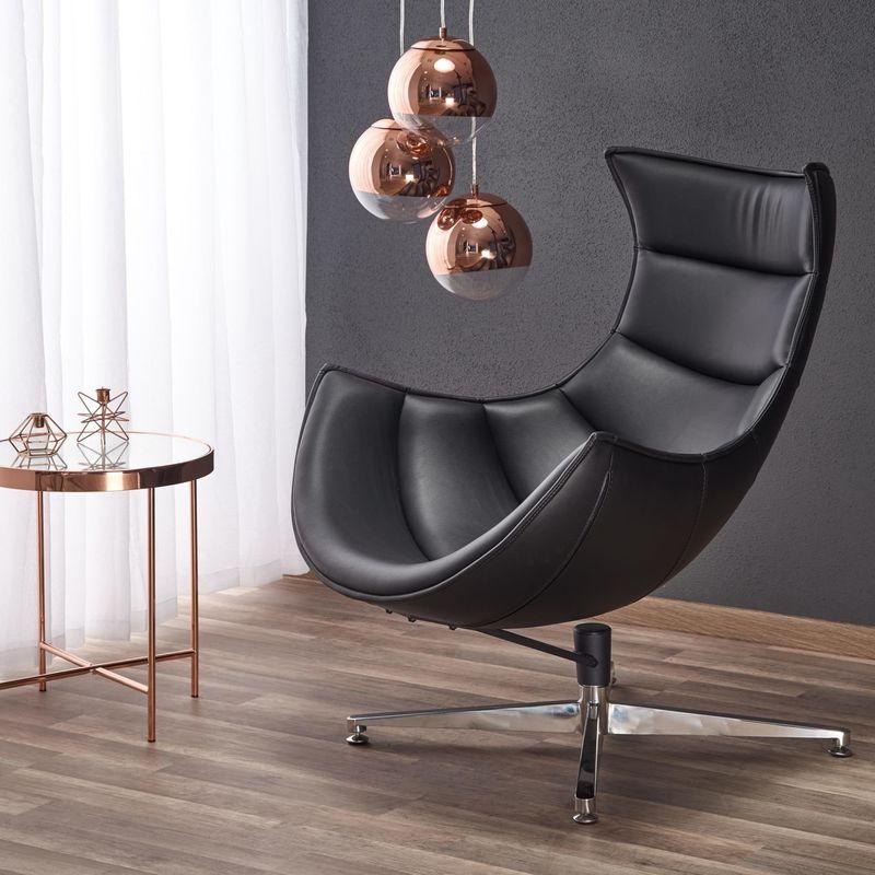Кресло Halmar LUXOR (черный) V-CH-LUXOR-FOT-CZARNY - фото 1