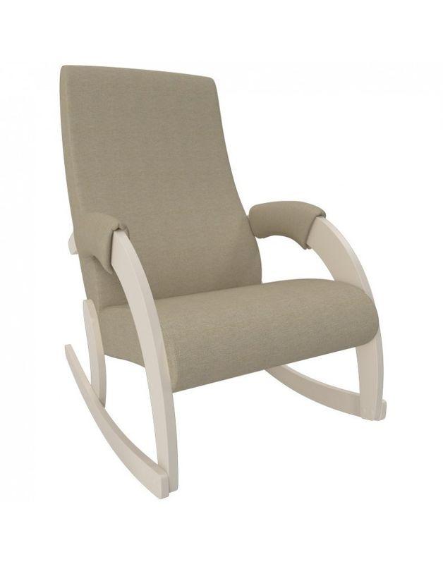 Кресло Impex Модель 67M  Мальта Сливочный (Мальта 1) - фото 1
