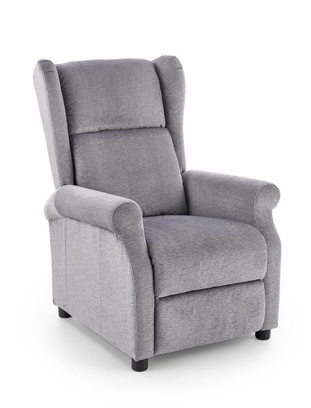 Кресло Halmar AGUSTIN (серый) V-CH-AGUSTIN-FOT-POPIELATY - фото 1