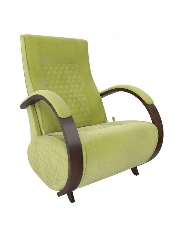 Кресло Impex Balance-3 Verona  орех (apple green) - фото 4