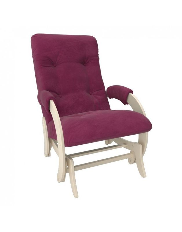 Кресло Impex Кресло-гляйдер Модель 68 Verona сливочный (Vanilla) - фото 2