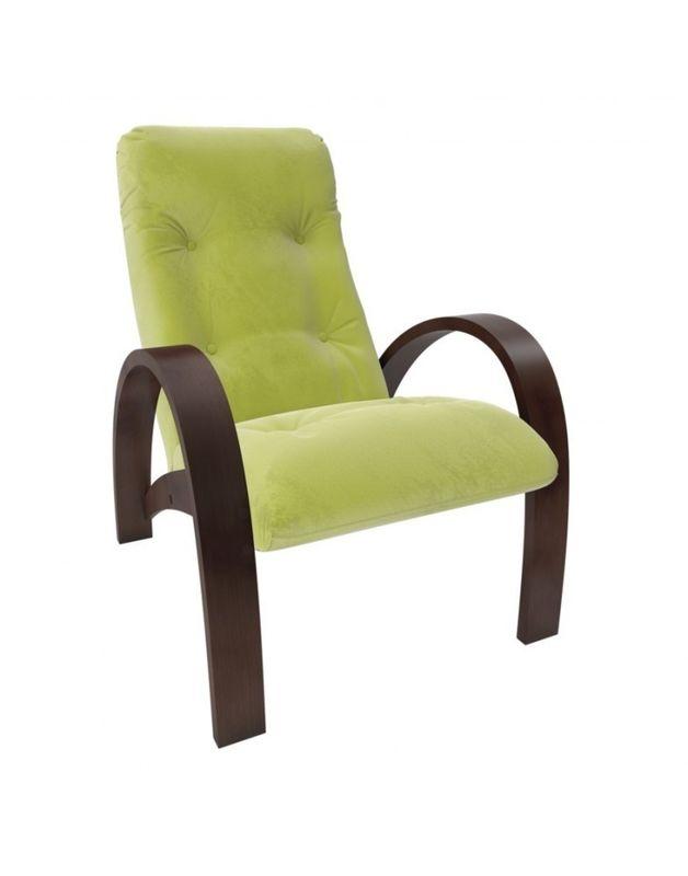 Кресло Impex Модель S7 Verona  орех (apple green) - фото 1