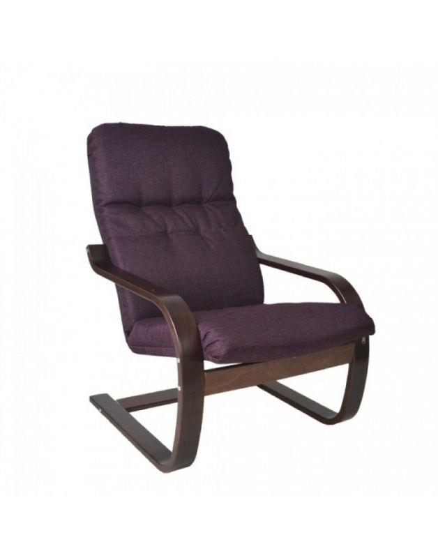 Кресло Impex Сайма ткань (Лиловый) - фото 3