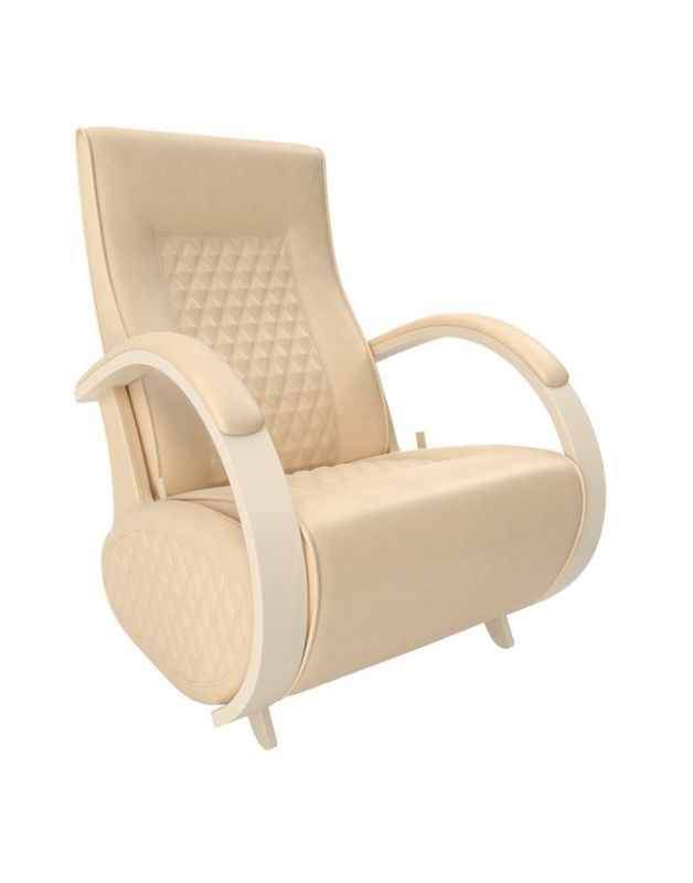 Кресло Impex Balance-3 экокожа сливочный (oregon 120) - фото 2