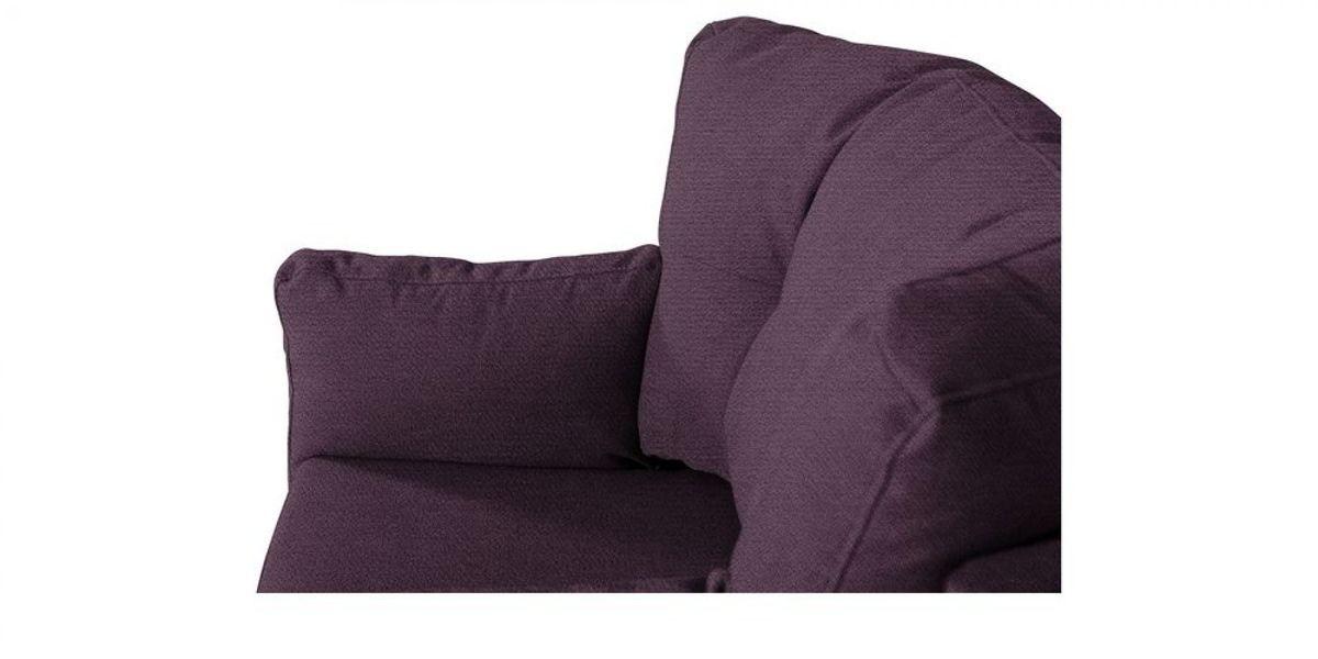 Кресло WOWIN Хюгге (Темно-фиолетовый велюр) - фото 5