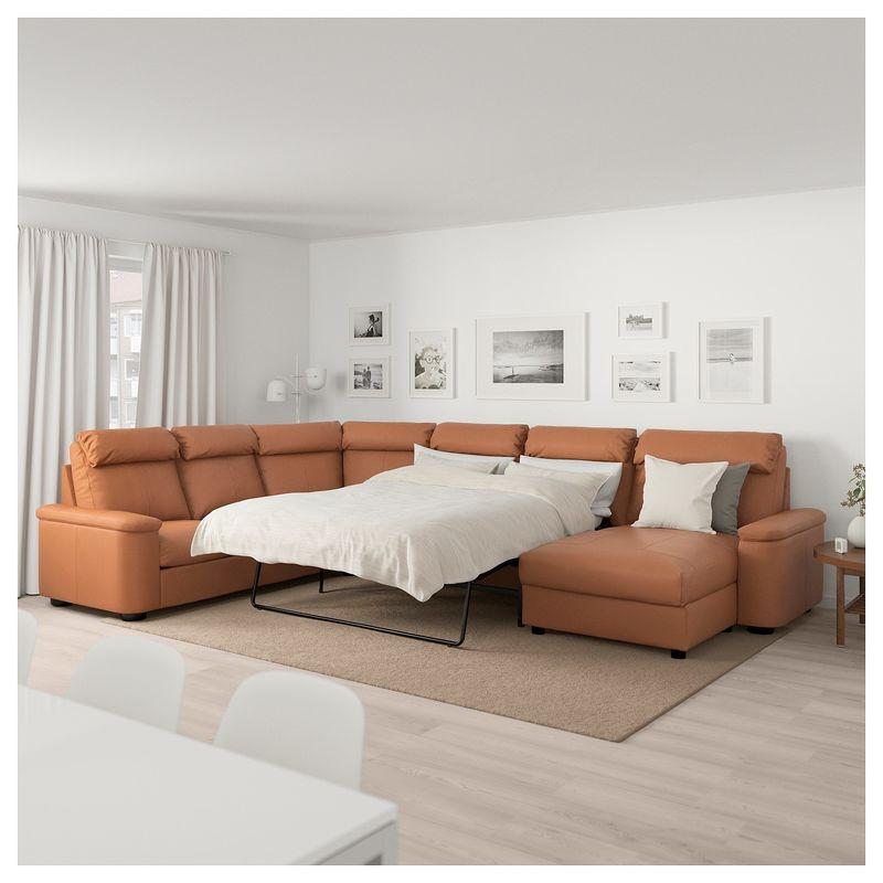Диван IKEA Лидгульт золотисто-коричневый [692.776.23] - фото 7