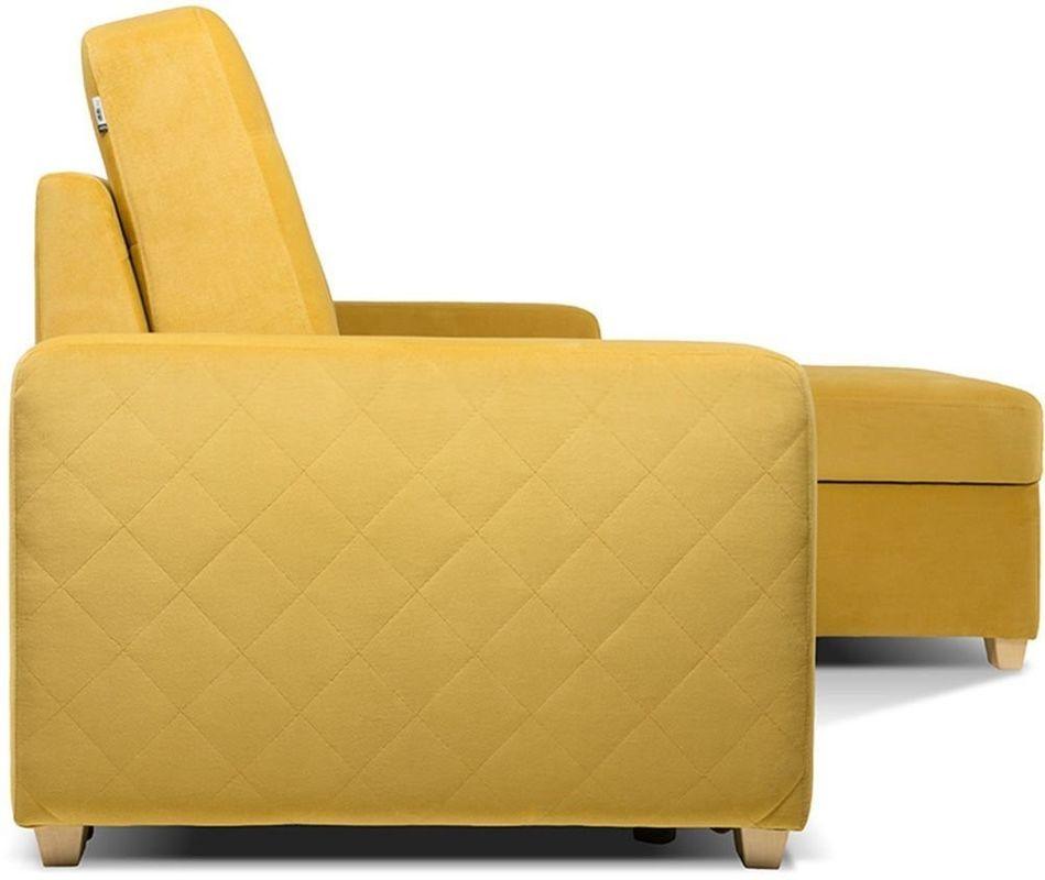 Диван Woodcraft Модульный Гувер-2 Velvet Yellow (уцененный) - фото 15