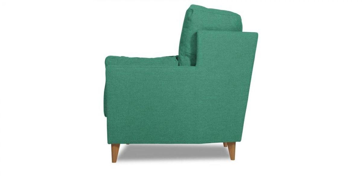 Кресло WOWIN Хюгге (Бирюзово-голубая микророгожка) - фото 3