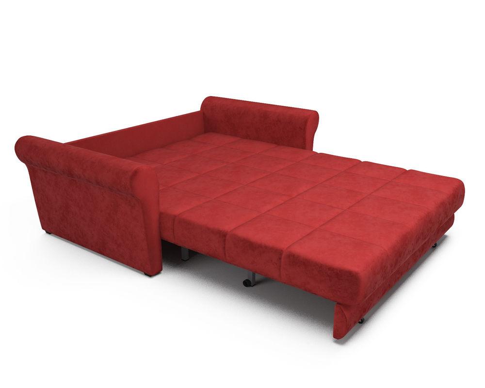 Диван Мебель-АРС Гранд (бархат красный / STAR VELVET 3 DARK RED) - фото 6
