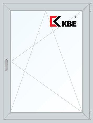 Окно ПВХ KBE 900*1200 2К-СП, 5К-П, П/О - фото 1