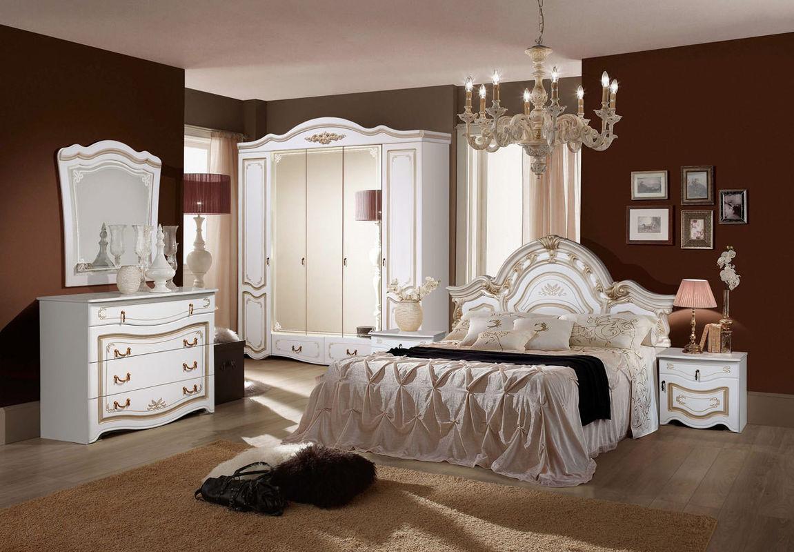 Спальня ФорестДекоГрупп Рим 5П (белый) - фото 1