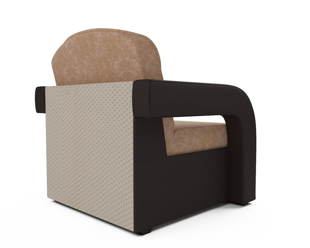 Кресло Мебель-АРС Кармен-2 Кордрой (микровелюр + экокожа) - фото 4