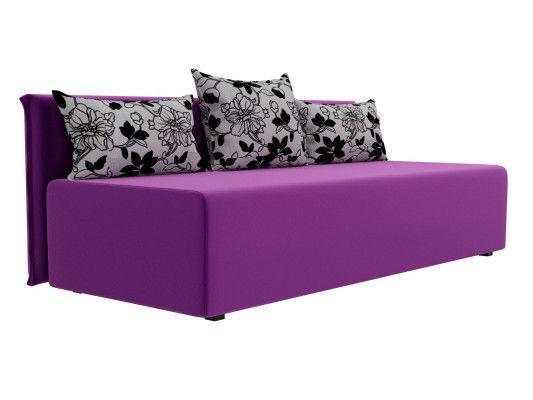 Диван ЛигаДиванов Кесада 101793 микровельвет фиолетовый - фото 4