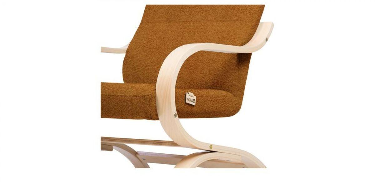 Кресло WOWIN Вейв (Медная эко-замша) - фото 4