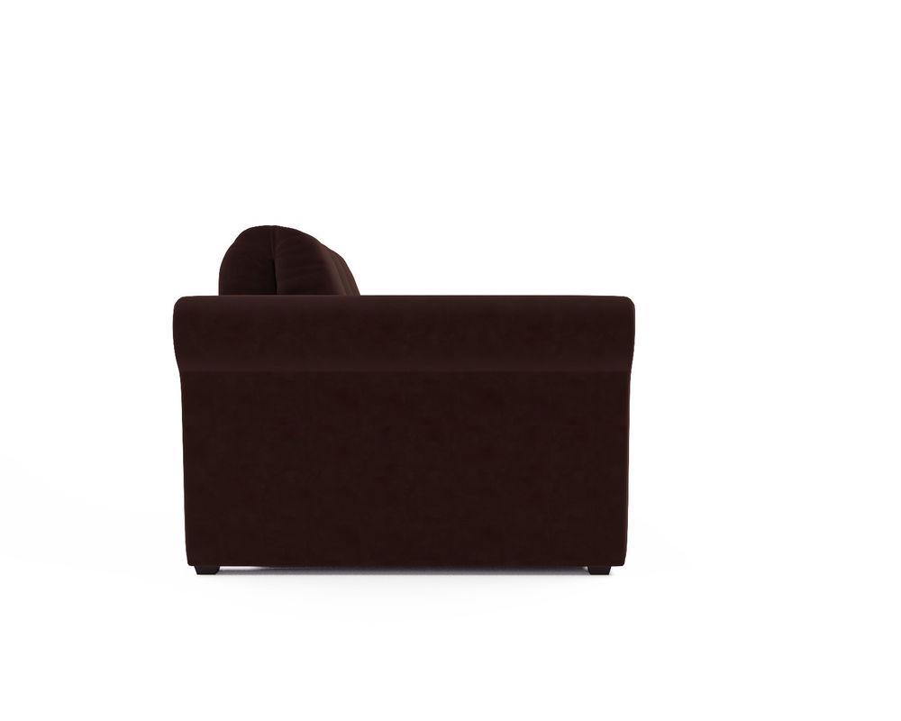 Кресло Мебель-АРС Гранд коричневый микровелюр (Luna 092) - фото 3