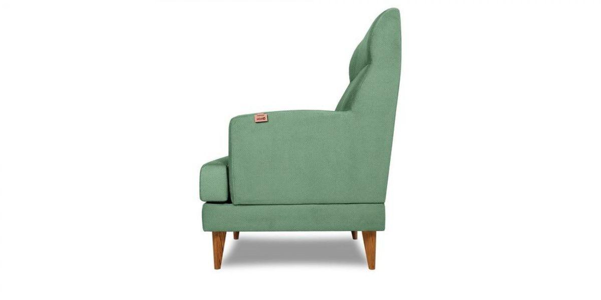 Кресло WOWIN Айленд (Мятная рогожка) - фото 4