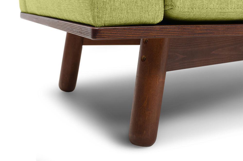 Диван Woodcraft Миннесота Textile Lime - фото 10
