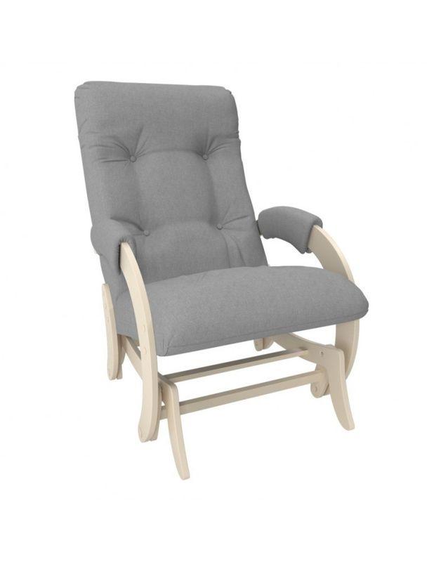 Кресло Impex Кресло-гляйдер Модель 68 Montana сливочный (Montana 804) - фото 1