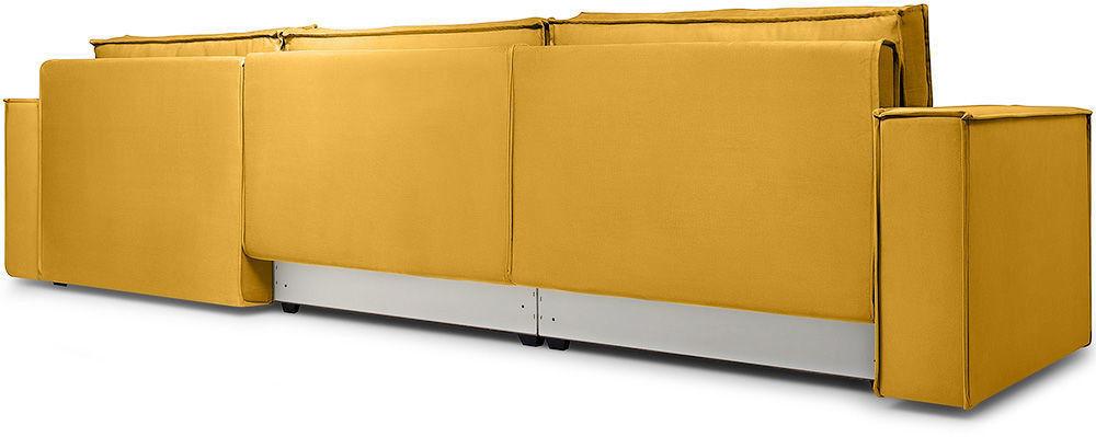 Диван Woodcraft Лофт Velvet Угловой Yellow - фото 6