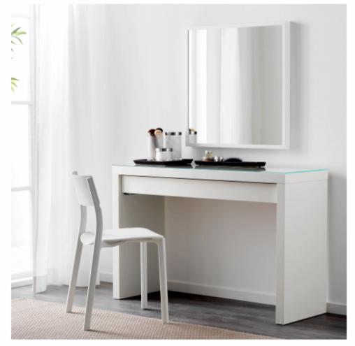 Туалетный столик IKEA Мальм 803.688.67 - фото 2
