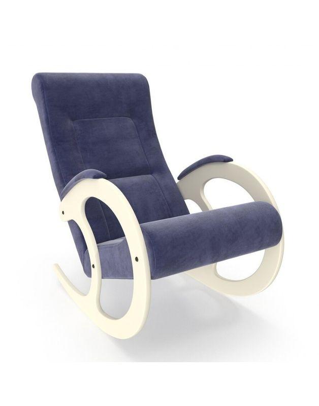 Кресло Impex Модель 3 Verona сливочный (Antrazite grey) - фото 3