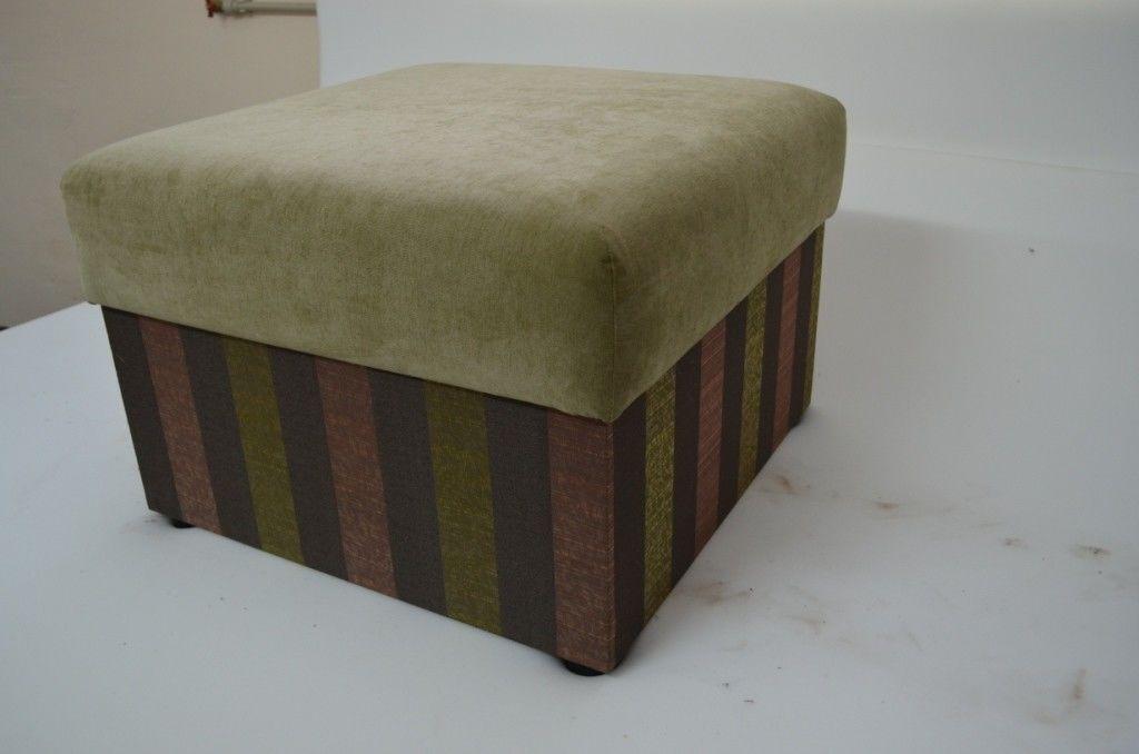 Пуфик Вливск-Мебель 60х60 см с нишей для хранения - фото 2