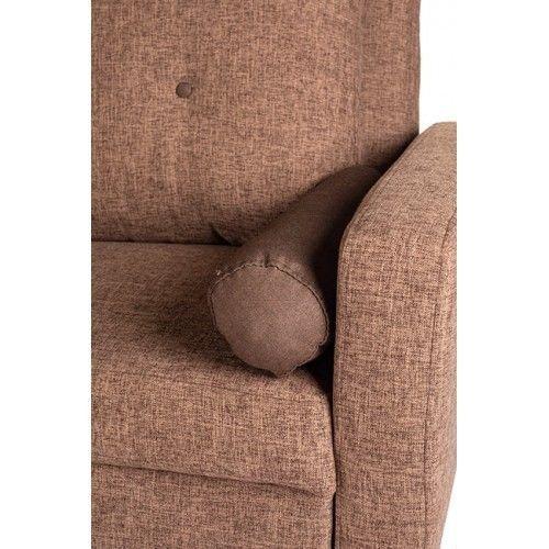 Диван Альта Мебель Bjorn (Бьёрн) светло-коричневый - фото 4