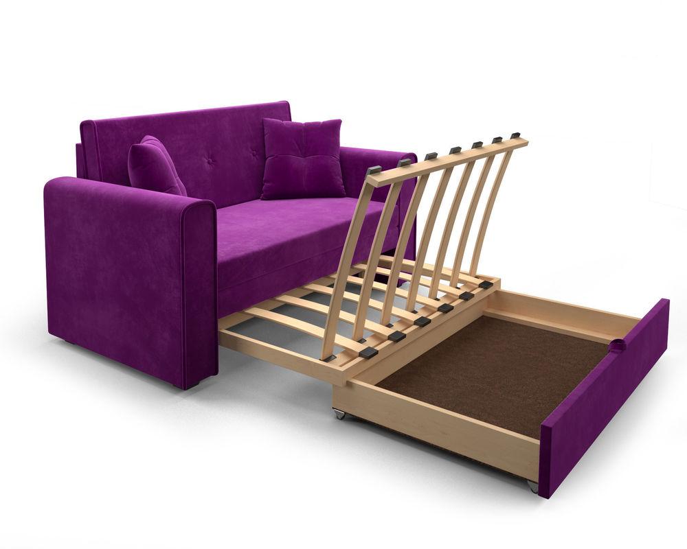 Диван Мебель-АРС Санта (фиолет) - фото 6