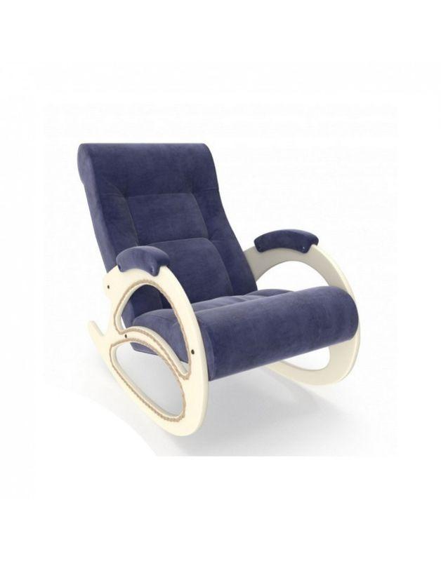 Кресло Impex Модель 4 Verona сливочный (Antrazite grey) - фото 4