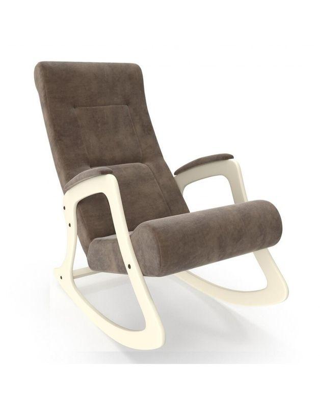 Кресло Impex Модель 2 Verona сливочный (Antrazite grey) - фото 2
