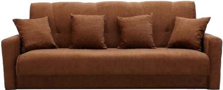 Диван ПромТрейдинг Милан 120 с пружиннным блоком (коричневый) - фото 1