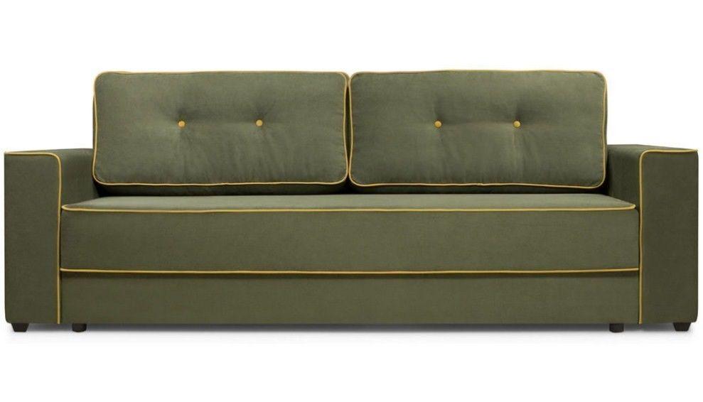 Диван Woodcraft Менли НПБ Velvet Green - фото 1